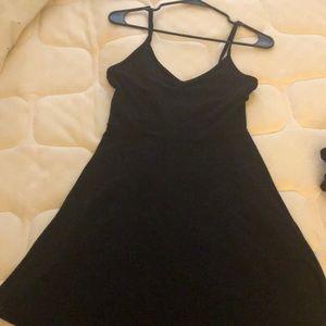 Large black mini dresss